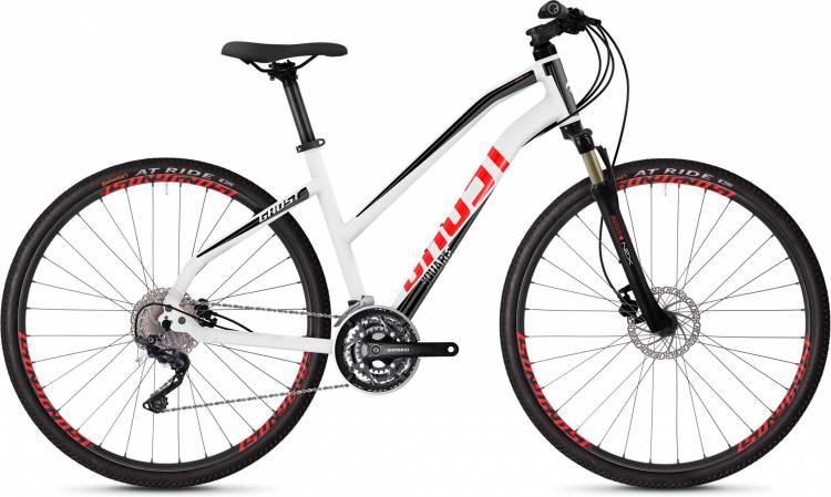 Ghost Square Cross 2.8 AL W star white / jet black / fiery red 2020 - Crossrad Damen