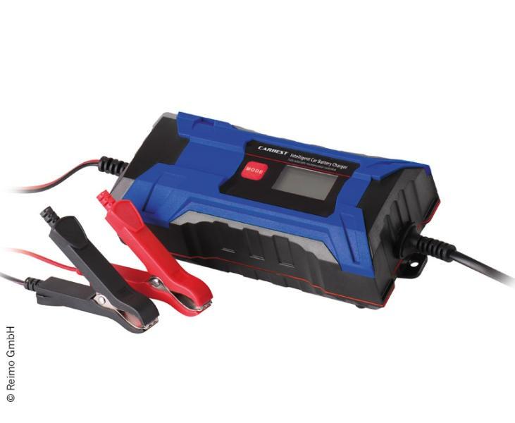 Carbest Intelligentes Batterieladegarät mit LCD-Display 12V / 4A