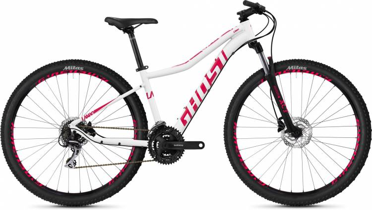 Ghost Lanao 2.9 AL W star white / ruby pink 2020 - Hardtail Mountainbike Damen