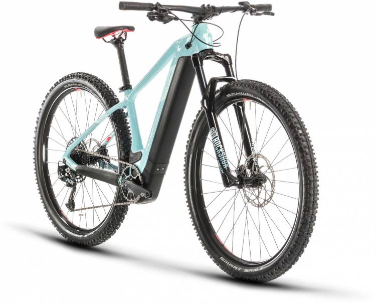 Cube Access Hybrid SL 625 29 blue n coral 2020 - E-Bike Hardtail Mountainbike