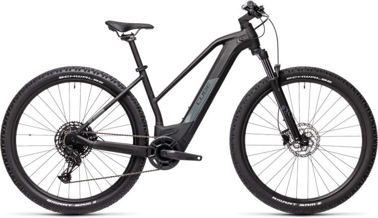 Cube Reaction Hybrid Pro 500 29 black n grey 2021 - E-Bike Hardtail Mountainbike Damen