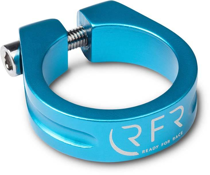RFR Sattelklemme 31,8 mm blue