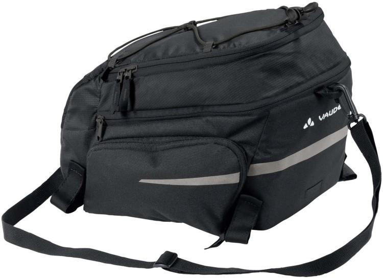 Silkroad Plus - black - Gepäckträgertasche