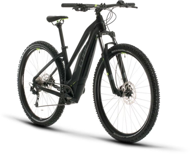 Cube Acid Hybrid ONE 500 29 black n green 2020 - E-Bike Hardtail Mountainbike Damen
