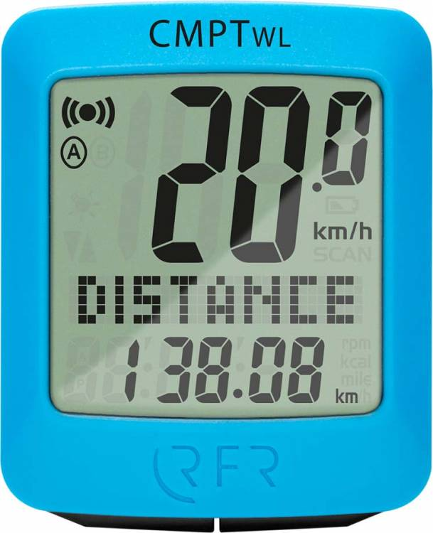 RFR Fahrradcomputer wireless CMPT blue