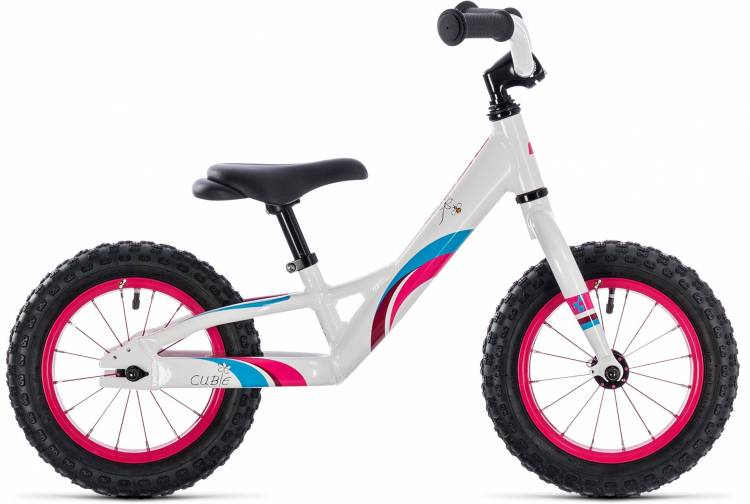 Cube Cubie 120 girl white n pink 2018 - Laufrad