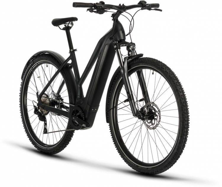 Cube Cross Hybrid Pro 500 Allroad iridium n black 2020 - E-Bike Crossrad Damen