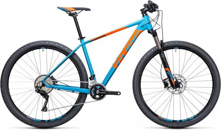 Cube Acid 27.5/29 2x blue n flashorange 2017 - Hardtail Mountainbike