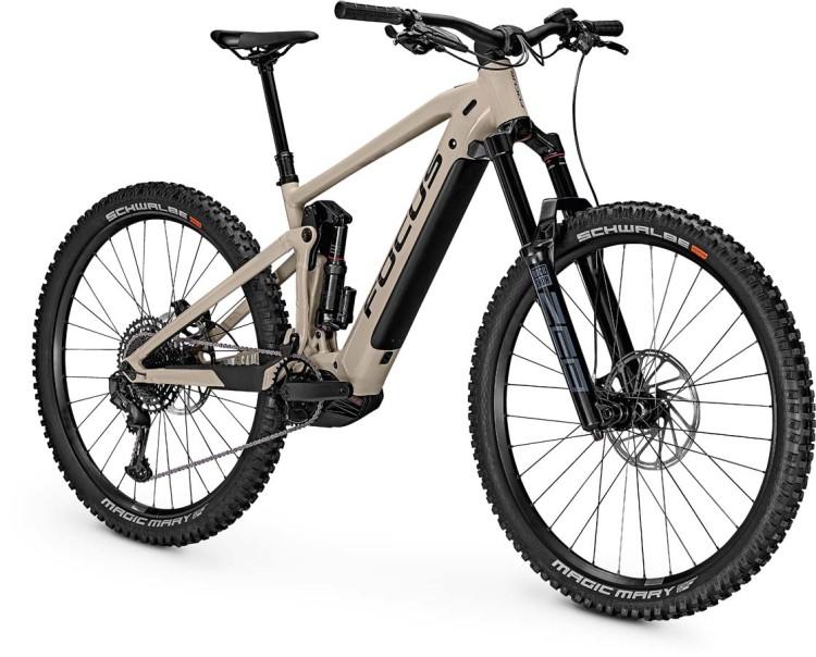 Focus Sam2 6.8 Milk Brown 2021 - E-Bike Fully Mountainbike