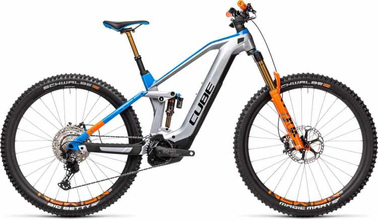 Cube Stereo Hybrid 140 HPC Actionteam 625 Kiox actionteam 2021 - E-Bike Fully Mountainbike
