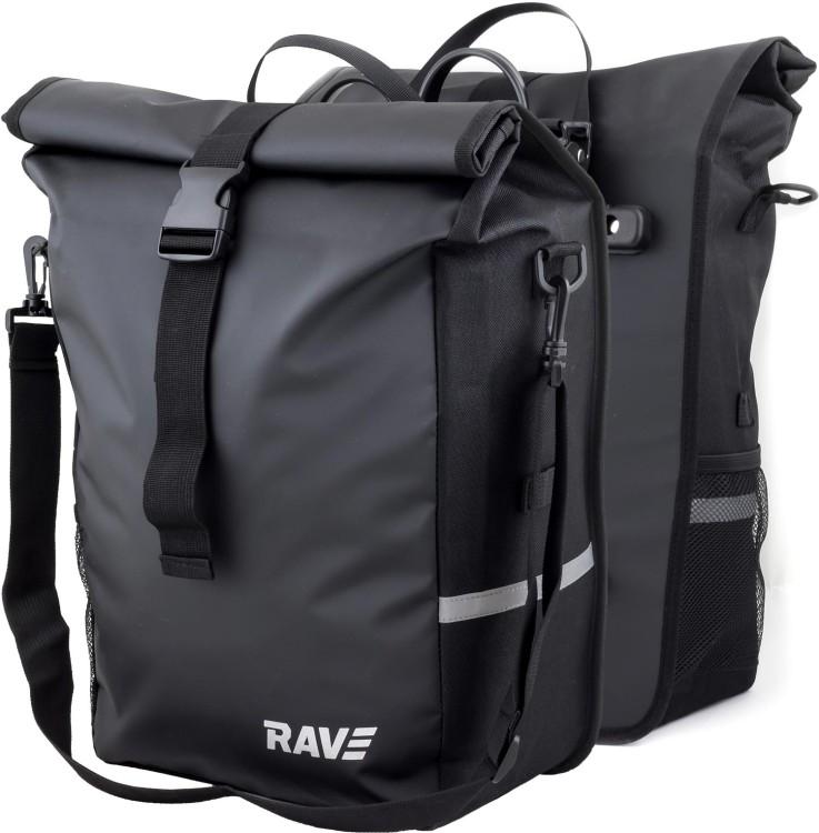 RAVE Hinterradtasche Voyage - (Paar) Easy-Click-System