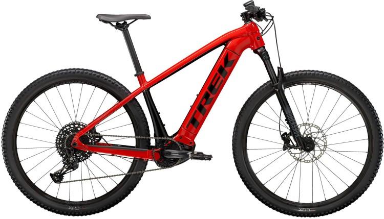 Trek Powerfly 5 Radioactive Red / Trek Black 2021 - E-Bike Hardtail Mountainbike