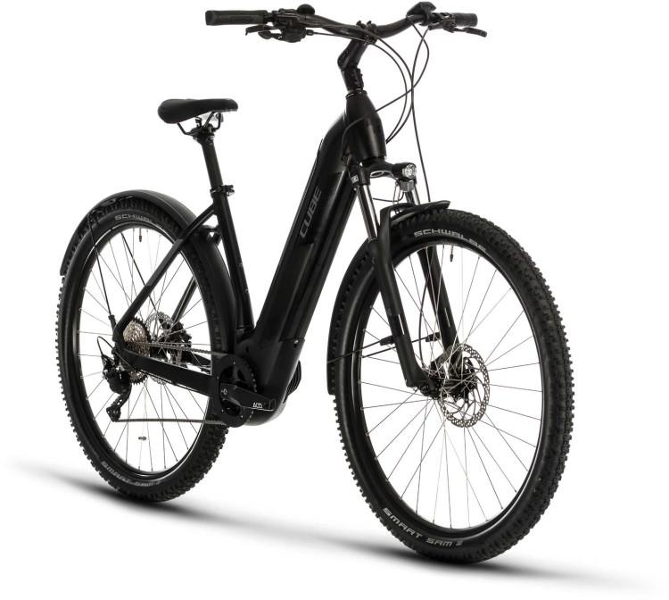Cube Nuride Hybrid Pro 625 Allroad black n grey 2020 - E-Bike Hardtail Mountainbike