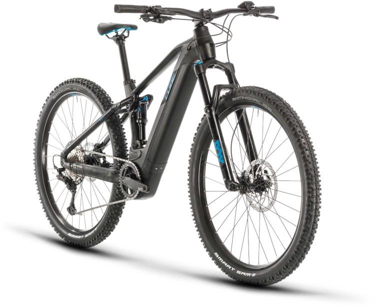 Cube Stereo Hybrid 120 Race 500 29 black n blue 2020 - E-Bike Fully Mountainbike