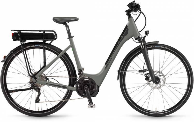 """Winora Y420.X 500Wh 28"""" militarygrey matt 2017 - Tiefeinsteiger E-Bike Trekkingrad"""