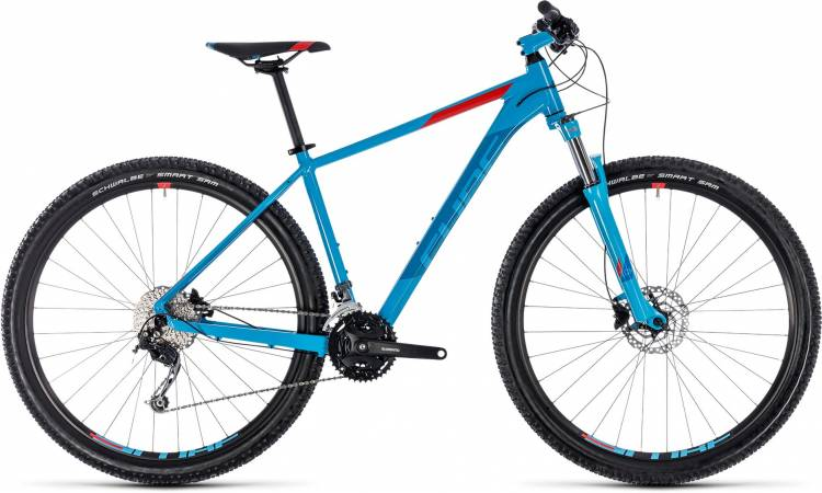 Cube Aim SL blue n red 2018 - Hardtail Mountainbike