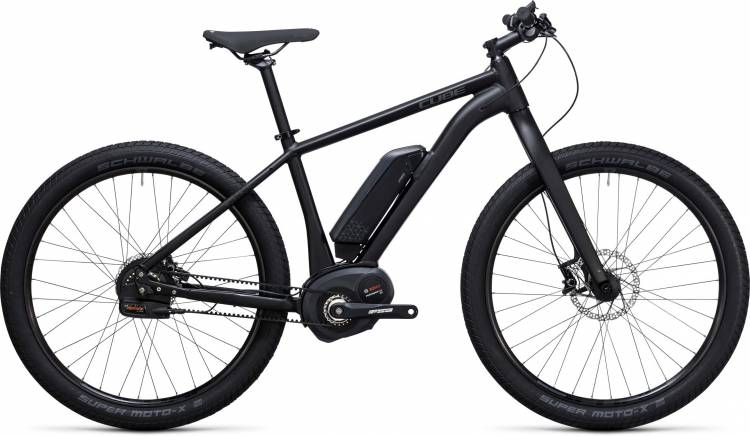 Cube SUV Hybrid Race 500 27.5 black n grey 2017