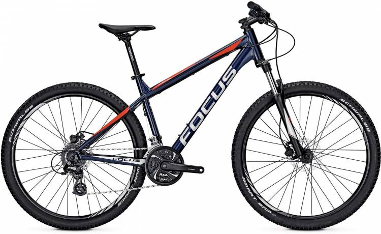 Focus Whistler Evo 27 royal blue 2017 - Hardtail Mountainbike