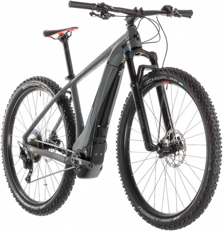 Cube Reaction Hybrid SLT 500 grey n red 2019