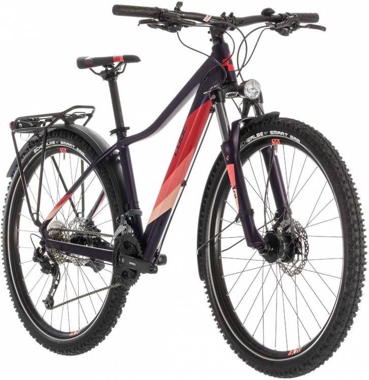cube access ws pro allroad aubergine n rose 2019 mountainbike hardtail g nstig bei mhw. Black Bedroom Furniture Sets. Home Design Ideas