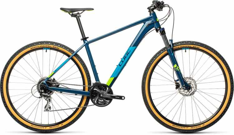 Cube Aim Race blueberry n lime 2021 - Hardtail Mountainbike
