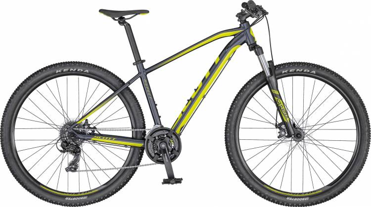 Scott Aspect 970 dk.grey/yellow 2020