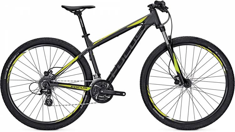 Focus Whistler Evo 29 magic black/matt 2017 - Hardtail Mountainbike
