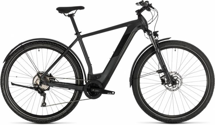 Cube Cross Hybrid Pro 500 Allroad iridium n black 2020 - E-Bike Crossrad Herren
