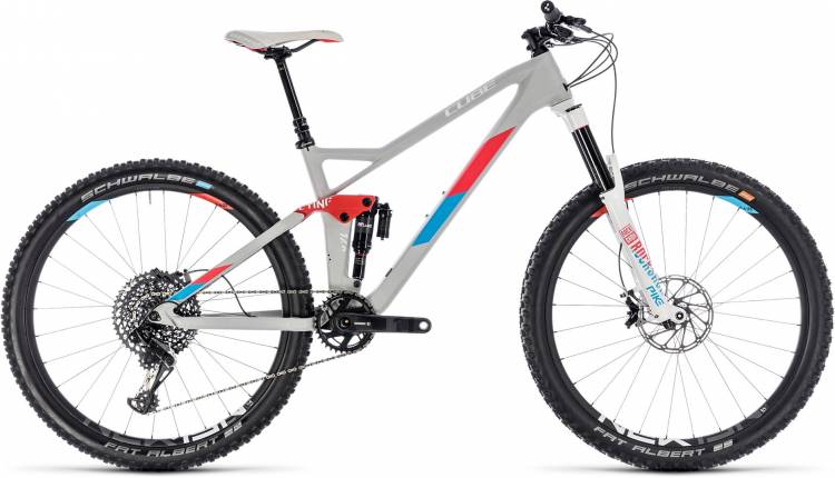 Cube Sting WS 140 HPC SL 27.5 team ws 2018 - Damen Fully Mountainbike