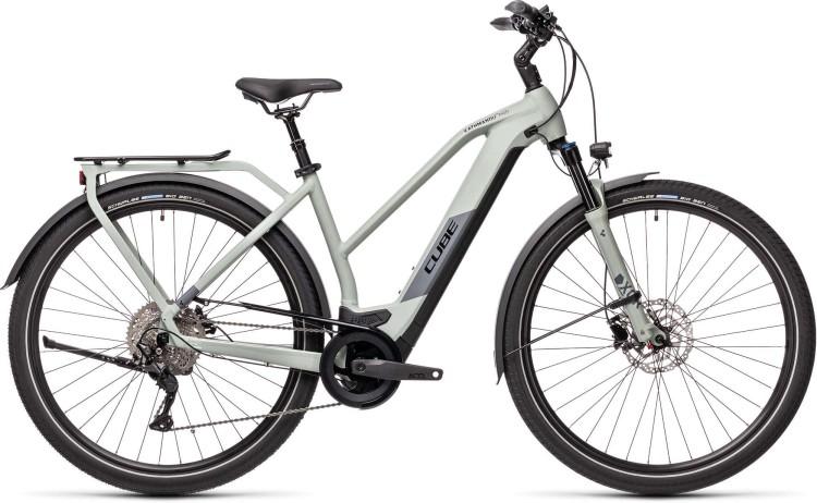 Cube Kathmandu Hybrid Pro 625 lunar n grey 2021 - E-Bike Trekkingrad Damen