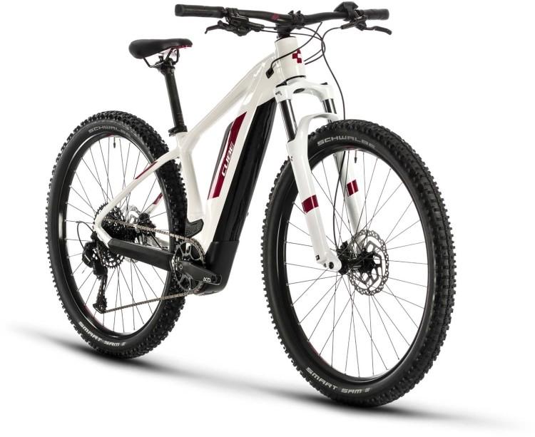 Cube Access Hybrid Pro 500 white n berry 2020 - E-Bike Hardtail Mountainbike