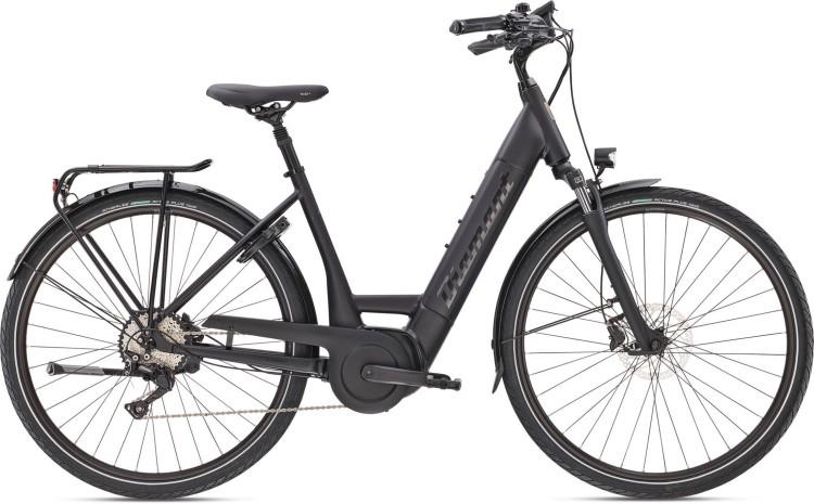 Diamant Mandara Deluxe+ TIE Tiefschwarz 2021 - E-Bike Trekkingrad Tiefeinsteiger