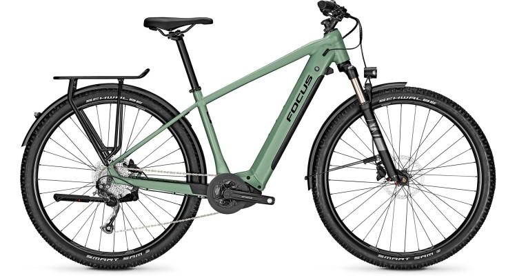 Focus Aventura2 6.7 Mineral Green 2021 - E-Bike Trekkingrad Herren