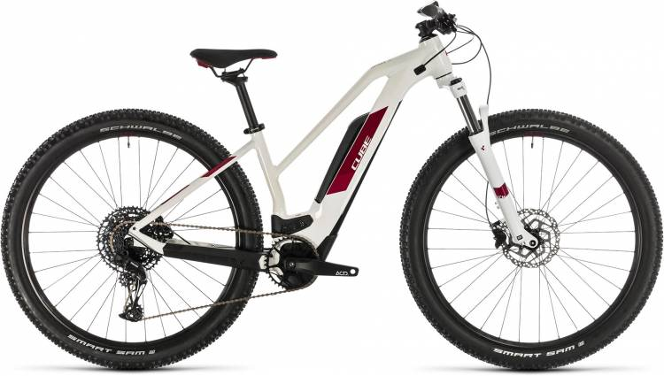 cube access hybrid pro 500 white n berry 2020 e bike. Black Bedroom Furniture Sets. Home Design Ideas