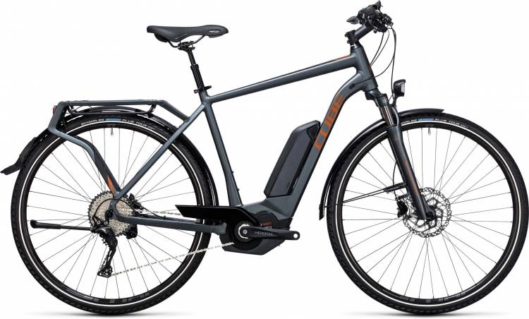 Cube Touring Hybrid EXC 400 grey n copper 2017
