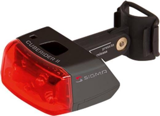 Sigma Batterie-Rückleuchte Sigma Cuberider II schwarz