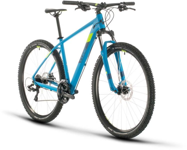 Cube Aim blue n green 2020 - Hardtail Mountainbike
