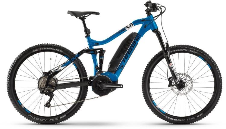 Haibike SDURO FullSeven LT 3.0 500Wh Blau/Weiß/Schwarz 2020