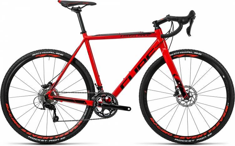 Cube Cross Race Pro red n black 2016