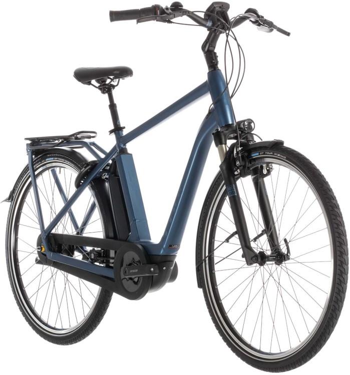 Cube Town Hybrid EXC 400 blue n blue - Herren 2019