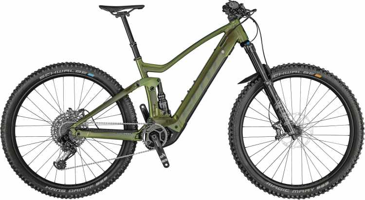 Scott Genius eRIDE 910 prism komodo green 2021 - E-Bike Fully Mountainbike