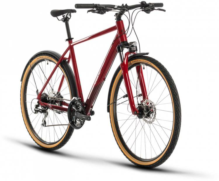 Cube Nature Allroad red n grey 2020 - Crossrad Herren