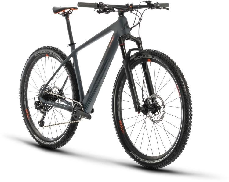 Cube Reaction C:62 Race grey n orange 2020 - Hardtail Mountainbike