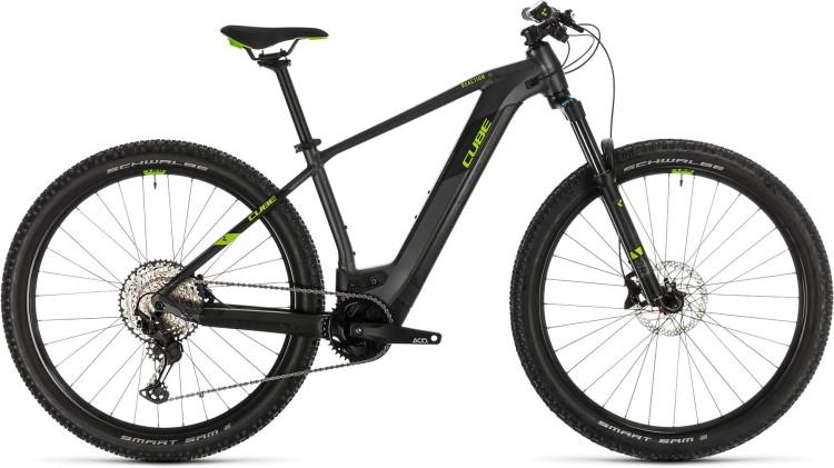 Cube Reaction Hybrid EXC 500 29 iridium n green 2020 - E-Bike Hardtail Mountainbike