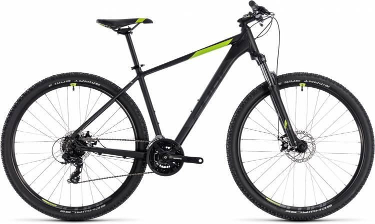 Cube Aim black n green 2018 - Hardtail Mountainbike