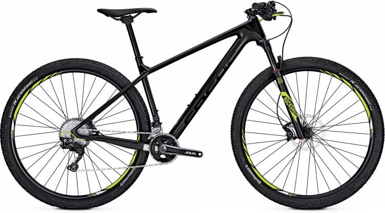 Focus Raven Elite 29 black 2017 - Hardtail Mountainbike
