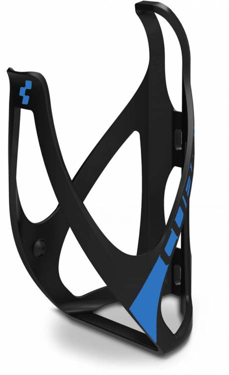 Cube Flaschenhalter HPP matt black n classic blue