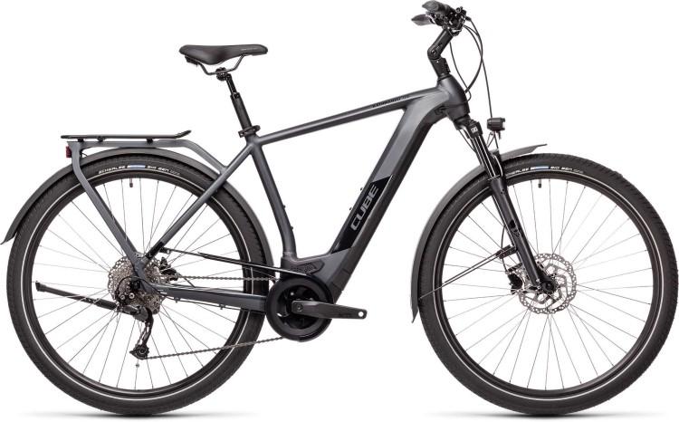 Cube Kathmandu Hybrid ONE 625 iridium n black 2021 - E-Bike Trekkingrad Herren