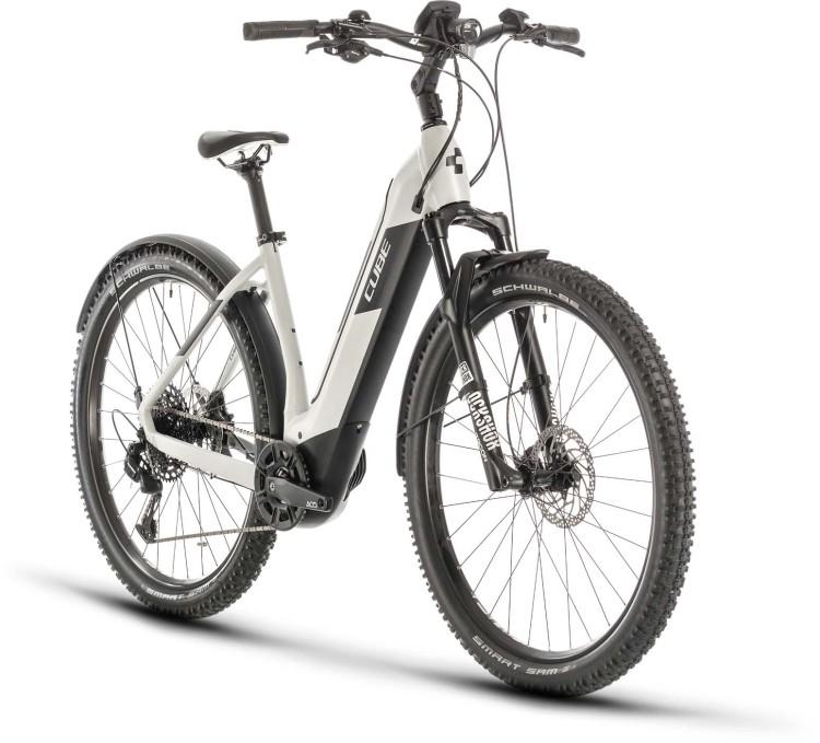 Cube Nuride Hybrid EXC 625 Allroad grey n black 2020 - E-Bike Hardtail Mountainbike