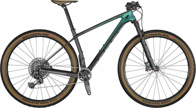 Scott Scale RC 900 Team Issue AXS prism purple green / black / grey 2021 - Hardtail Mountainbike